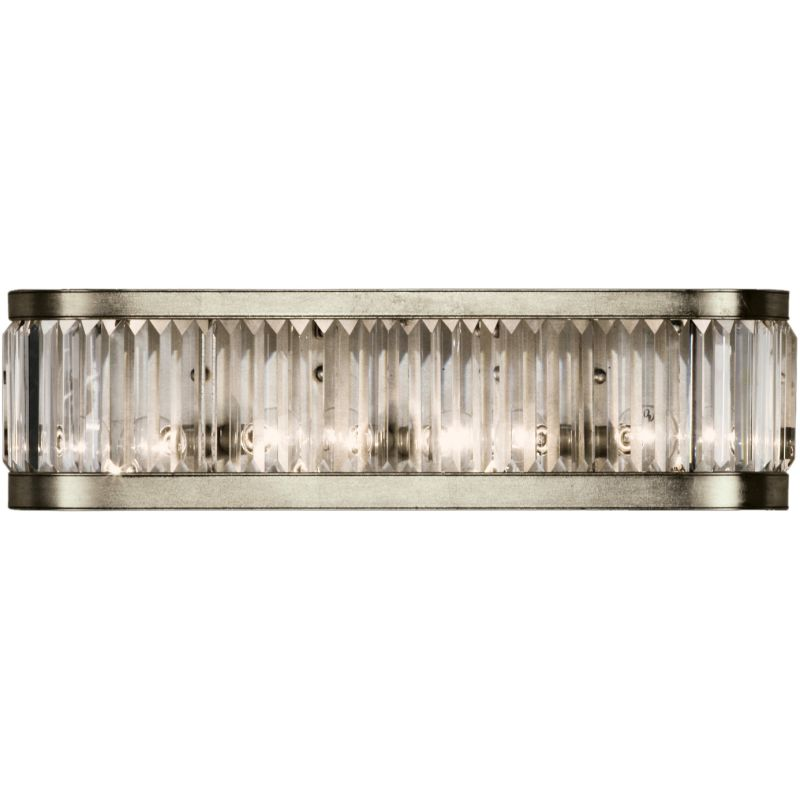 Fine Art Lamps 706550ST Crystal Enchantment Four-Light Wall Sconce
