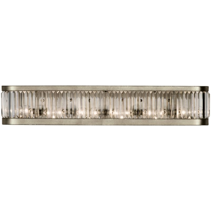 Fine Art Lamps 706650ST Crystal Enchantment Six-Light Wall Sconce with