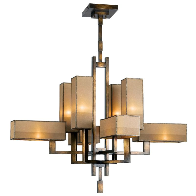 Fine Art Lamps 733840ST Perspectives Eight-Light Two-Tier Chandelier Sale $6237.00 ITEM: bci2258460 ID#:733840ST :