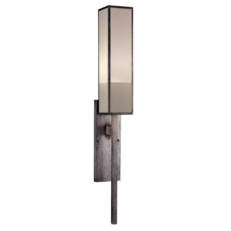 Fine Art Lamps 753950-2GU Perspectives Silver Single-Light Wall Sconce