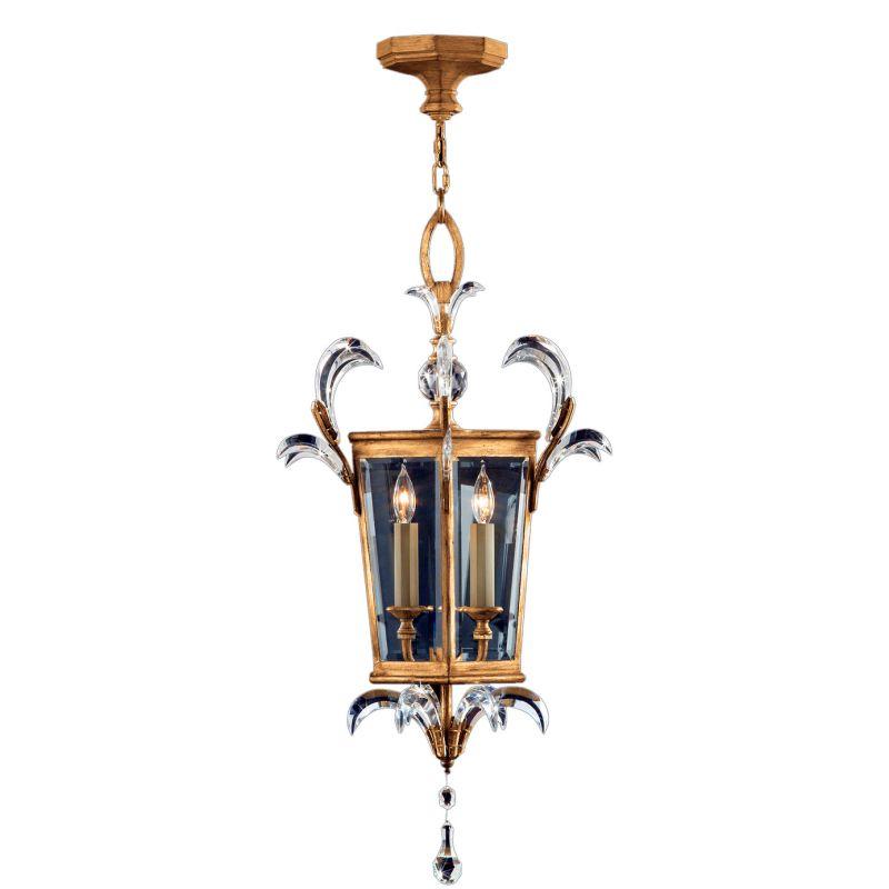 "Fine Art Lamps 762340ST Beveled Arcs Gold 22"" Diameter Three-Light"