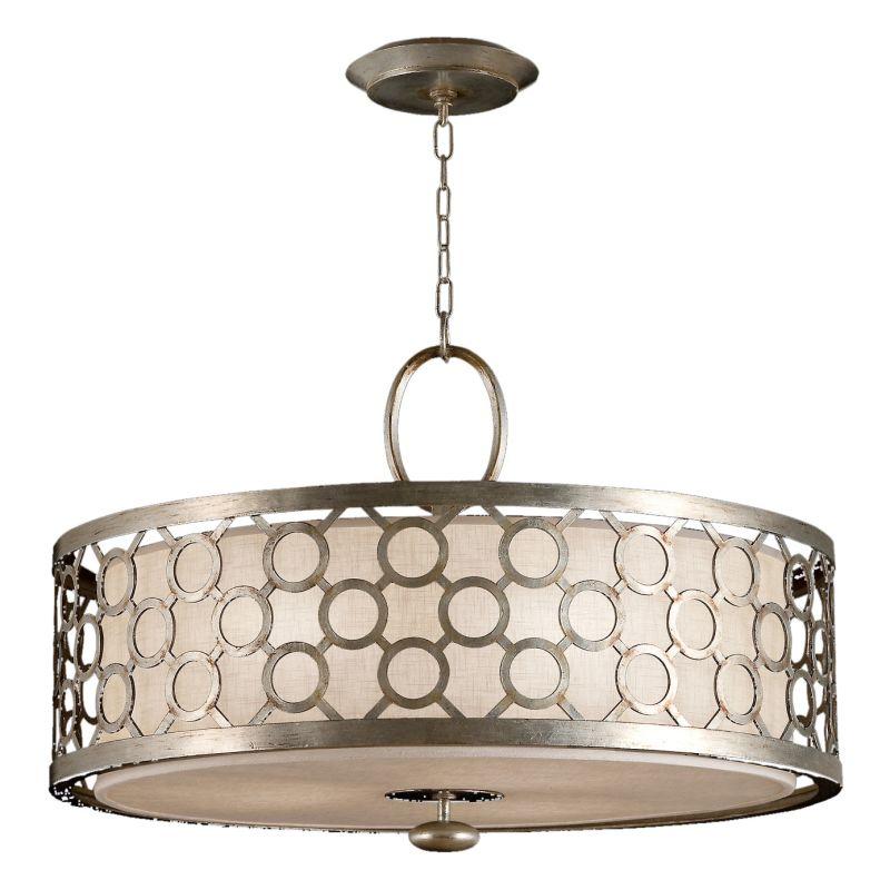 """Fine Art Lamps 780140ST Allegretto Silver 33"""" Diameter Three-Light"""