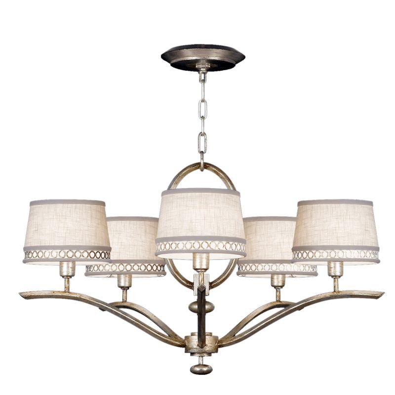 Fine Art Lamps 785440ST Allegretto Silver Five-Light Single-Tier Sale $2194.50 ITEM: bci2258592 ID#:785440ST :