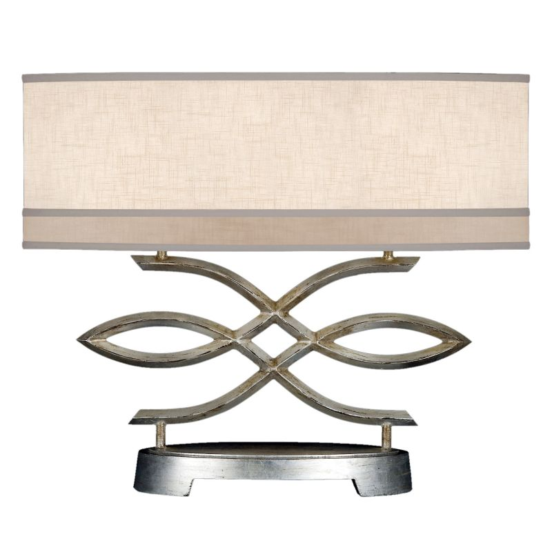 Fine Art Lamps 785710ST Allegretto Silver Two-Light Table Lamp with Sale $1669.50 ITEM: bci2258596 ID#:785710ST :