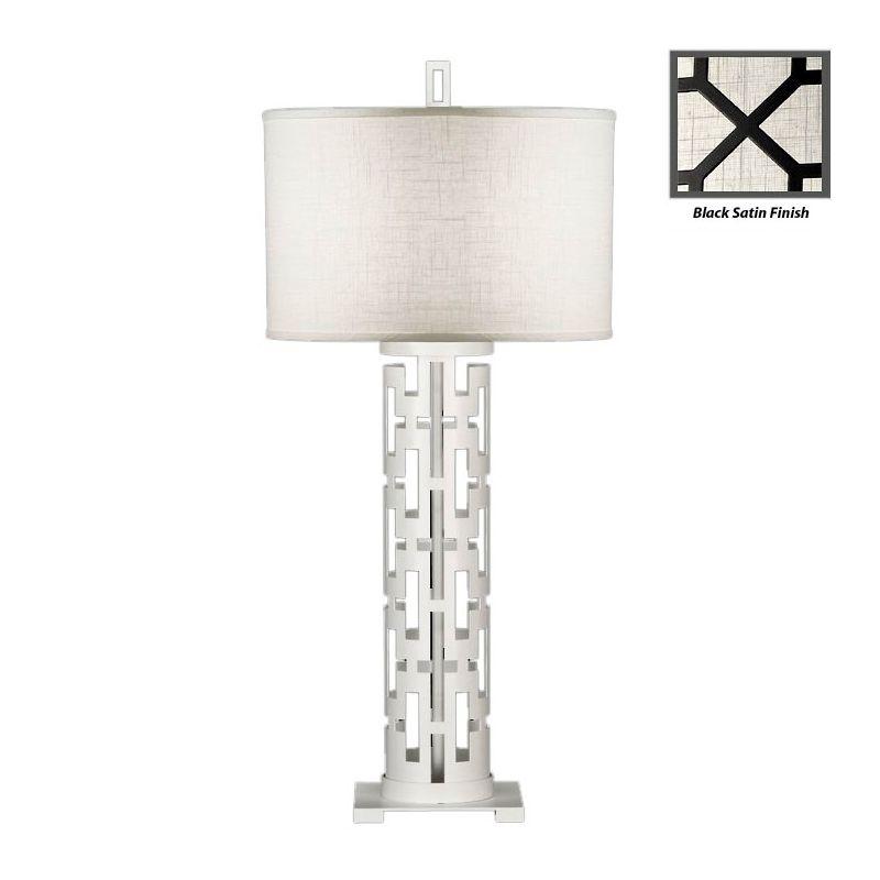 Fine Art Lamps 787310-6ST Black+White Story Single-Light Table Lamp Sale $1081.50 ITEM: bci2258611 ID#:787310-6ST :