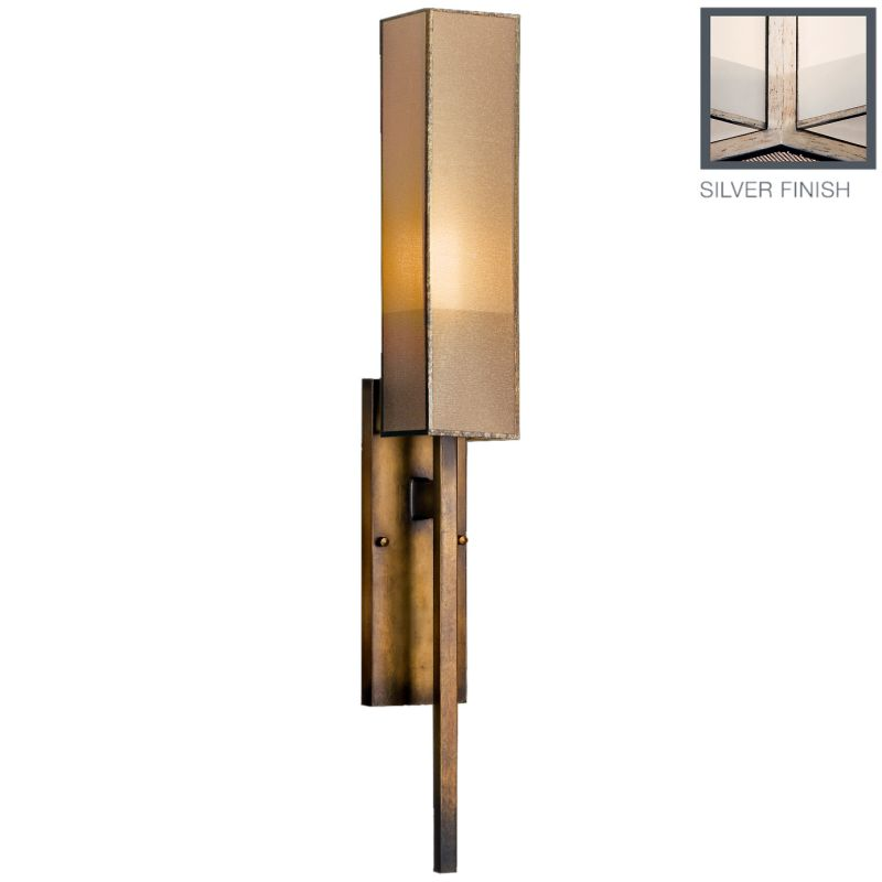 Fine Art Lamps 790050-2GU Perspectives Silver Single-Light Wall Sconce Sale $1113.00 ITEM: bci2258641 ID#:790050-2GU :