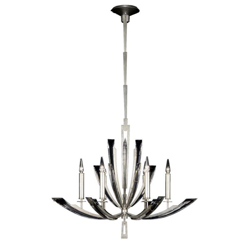 Fine Art Lamps 798040st Platinized Silver Leaf Vol De