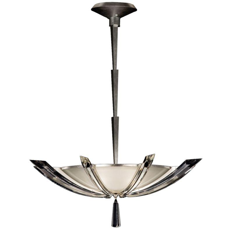 "Fine Art Lamps 799040ST Vol de Cristal 28"" Diameter Three-Light Bowl"