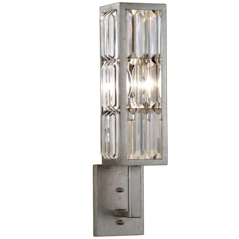 Fine Art Lamps 811450ST Crystal Enchantment Single-Light Wall Sconce