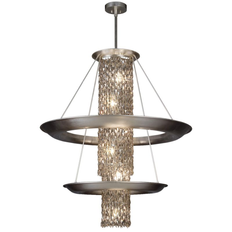 "Fine Art Lamps 813240ST Celestial Fifteen-Light 39"" Diameter Foyer"