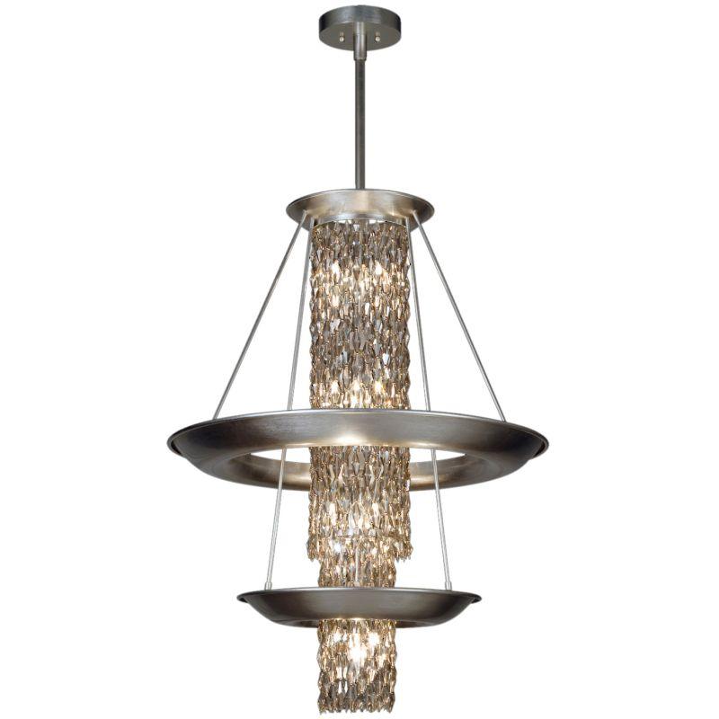 """Fine Art Lamps 813840ST Celestial Ten-Light 27"""" Diameter Foyer Pendant"""
