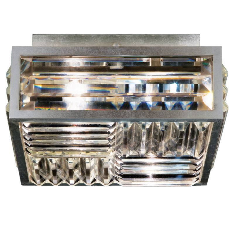 "Fine Art Lamps 815540ST Crystal Enchantment 11"" Diameter Two-Light"