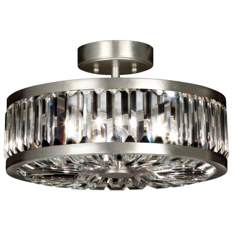 "Fine Art Lamps 815740ST Crystal Enchantment 16"" Diameter Three-Light"