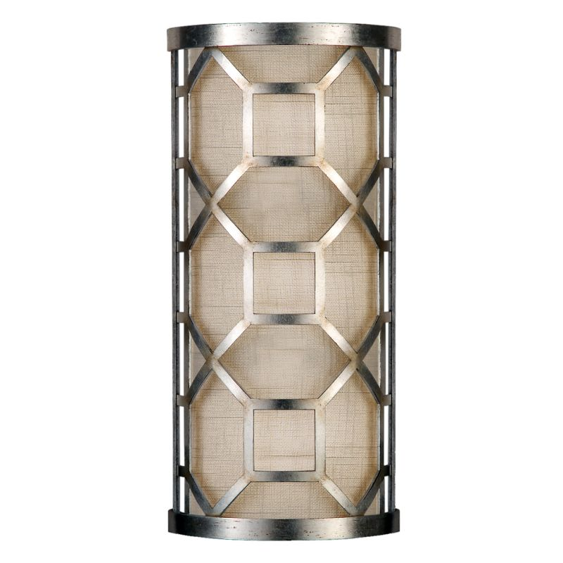 Fine Art Lamps 816850GU Allegretto Silver Two-Light Wall Sconce with