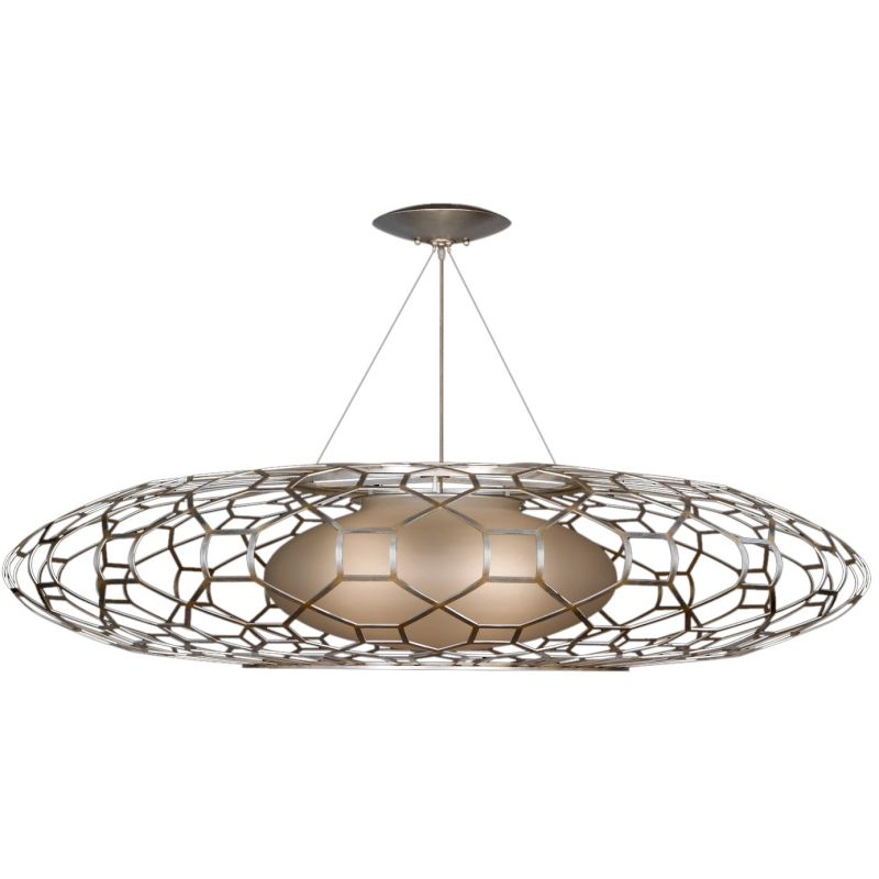 Fine Art Lamps 816940ST Allegretto Silver Three-Light Foyer Pendant Sale $10090.50 ITEM: bci2258929 ID#:816940ST :