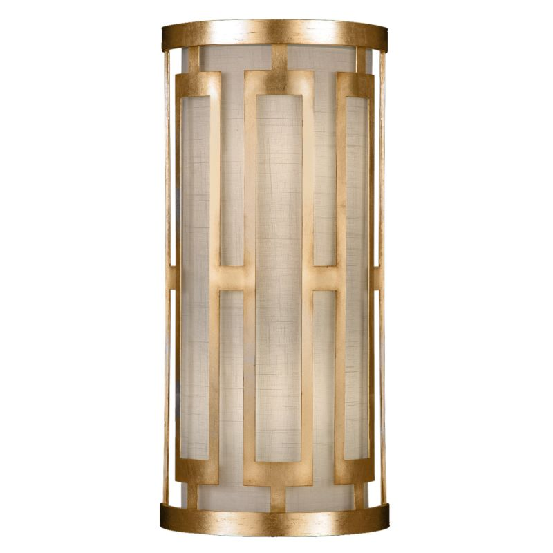 Fine Art Lamps 817150-2GU Allegretto Gold Two-Light Wall Sconce with