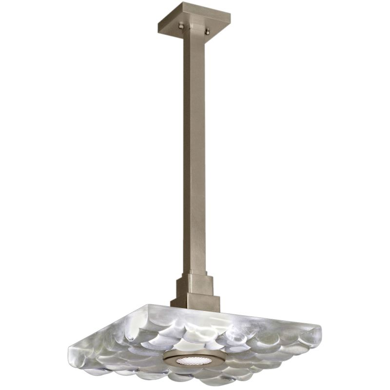 "Fine Art Lamps 818840-24ST Crystal Bakehouse 18"" Square Single-Light"