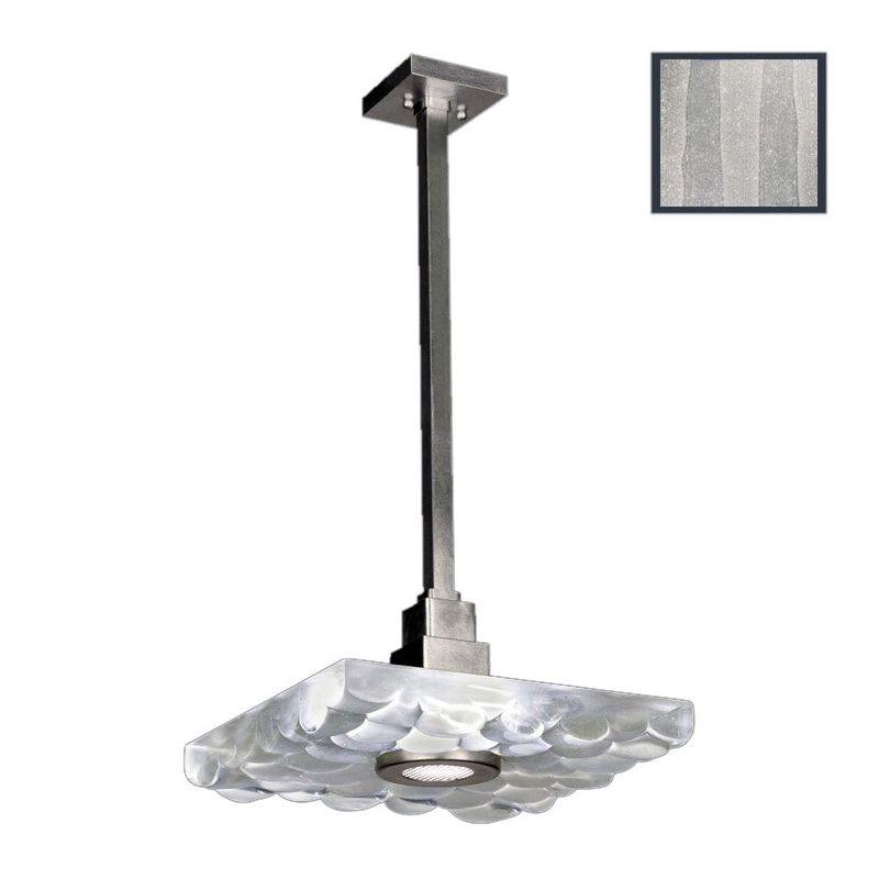 "Fine Art Lamps 818840-33ST Crystal Bakehouse 18"" Square Single-Light"