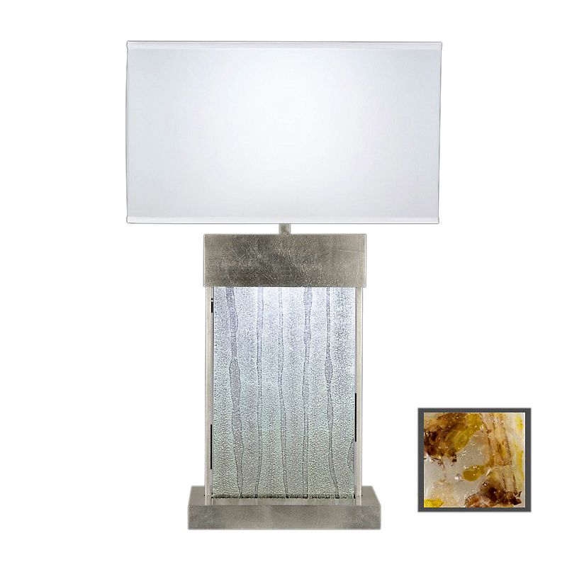 Fine Art Lamps 824810-31ST Crystal Bakehouse Two-Light Table Lamp with