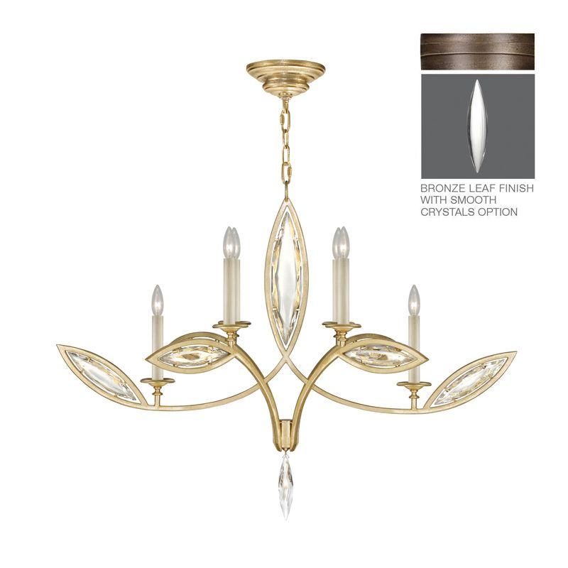 Fine Art Lamps 844040-31ST 6 Light 2 Tier Chandelier in Antique Hand Sale $5617.50 ITEM: bci2734072 ID#:844040-31ST :