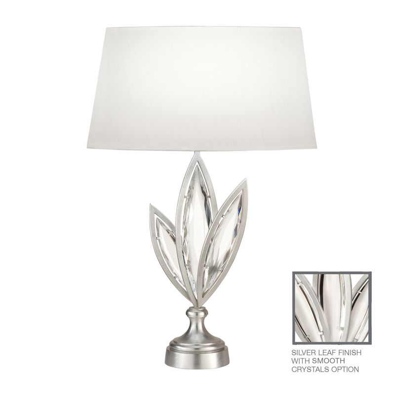 Fine Art Lamps 849810-11ST 1 Light Accent Table Lamp in Platinized
