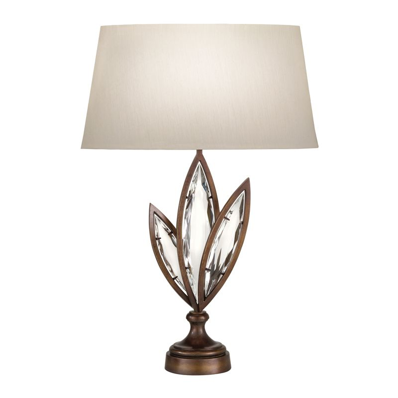 Fine Art Lamps 849810-32ST 1 Light Accent Table Lamp in Antique Hand