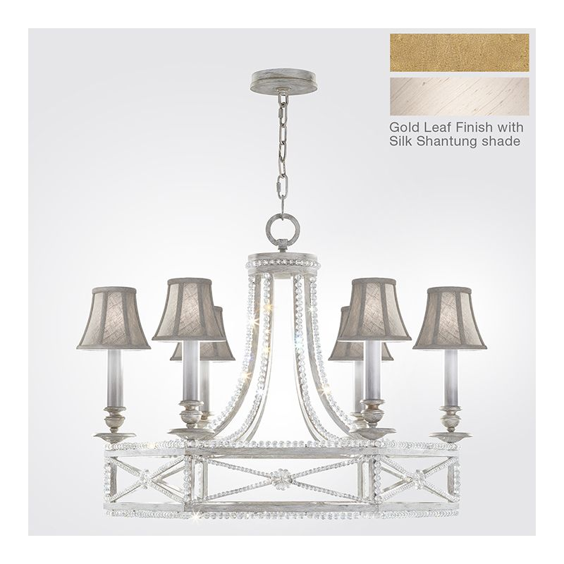 Fine Art Lamps 859240-21ST 6 Light 1 Tier Chandelier in Brandenburg Sale $5638.50 ITEM: bci2734215 ID#:859240-21ST :