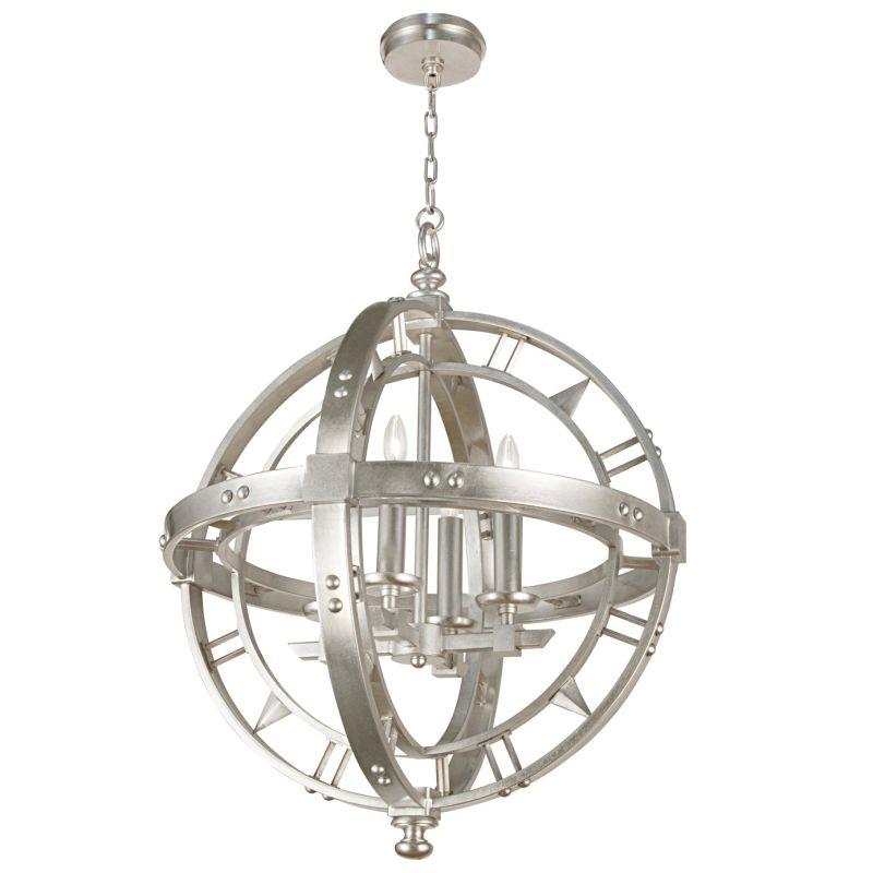 Fine Art Lamps 861240-2ST Liaison Four-Light Foyer Pendant with Bold