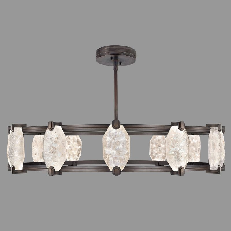 Fine Art Lamps 872940-ST Allison Paladino 24 Light LED Foyer Pendant