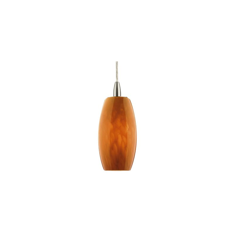 Forecast Lighting F5151 A La Carte Amber Cirrus Glass Shade from the