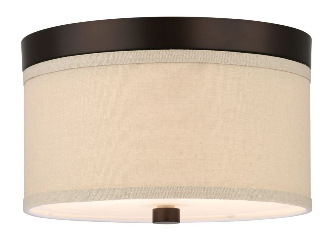 Forecast Lighting F1317U Energy Efficient 2 Light Flush Mount Fixture