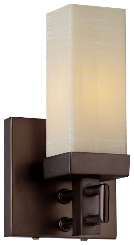 "Forecast Lighting F167470 1 Light 4.25"" Wide Wall Sconce from the Casa"