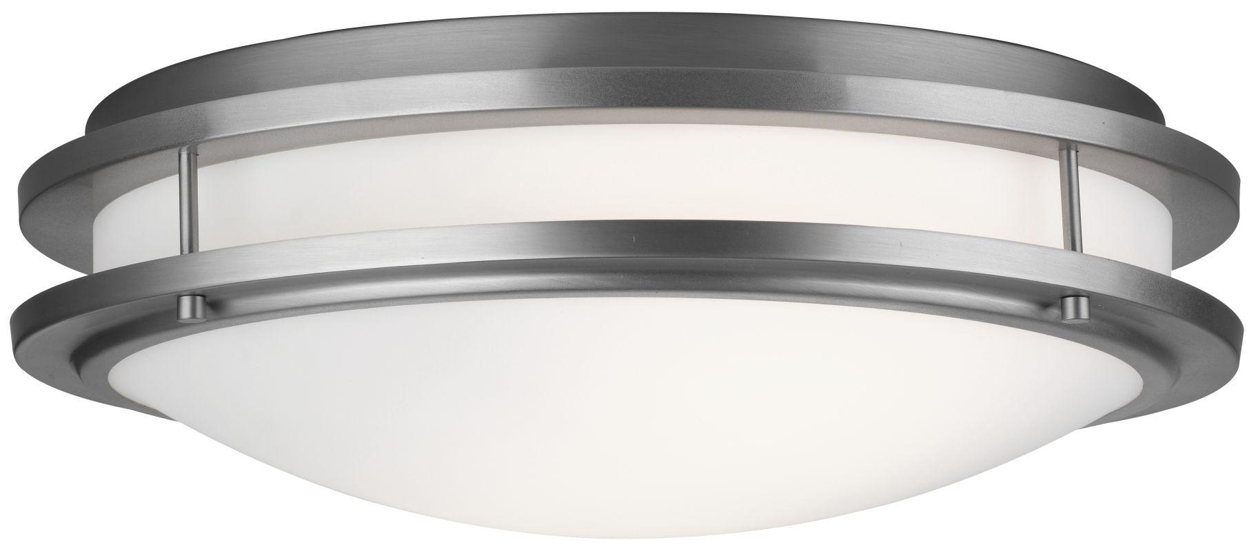 "Forecast Lighting F245736U 2 Light 18"" Wide Flush Mount Ceiling"