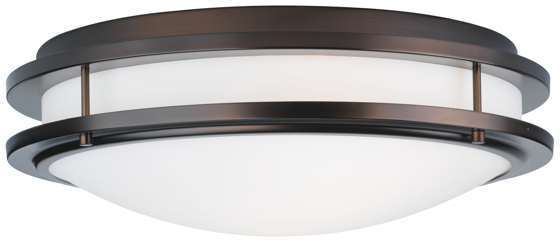 "Forecast Lighting F245770U 2 Light 18"" Wide Flush Mount Ceiling"