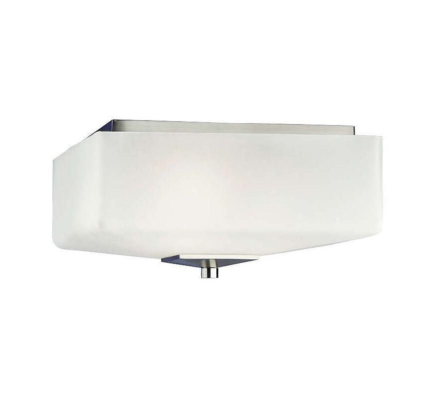 """Forecast Lighting F602636NV 3 Light 13"""" Wide Flush Mount Ceiling"""