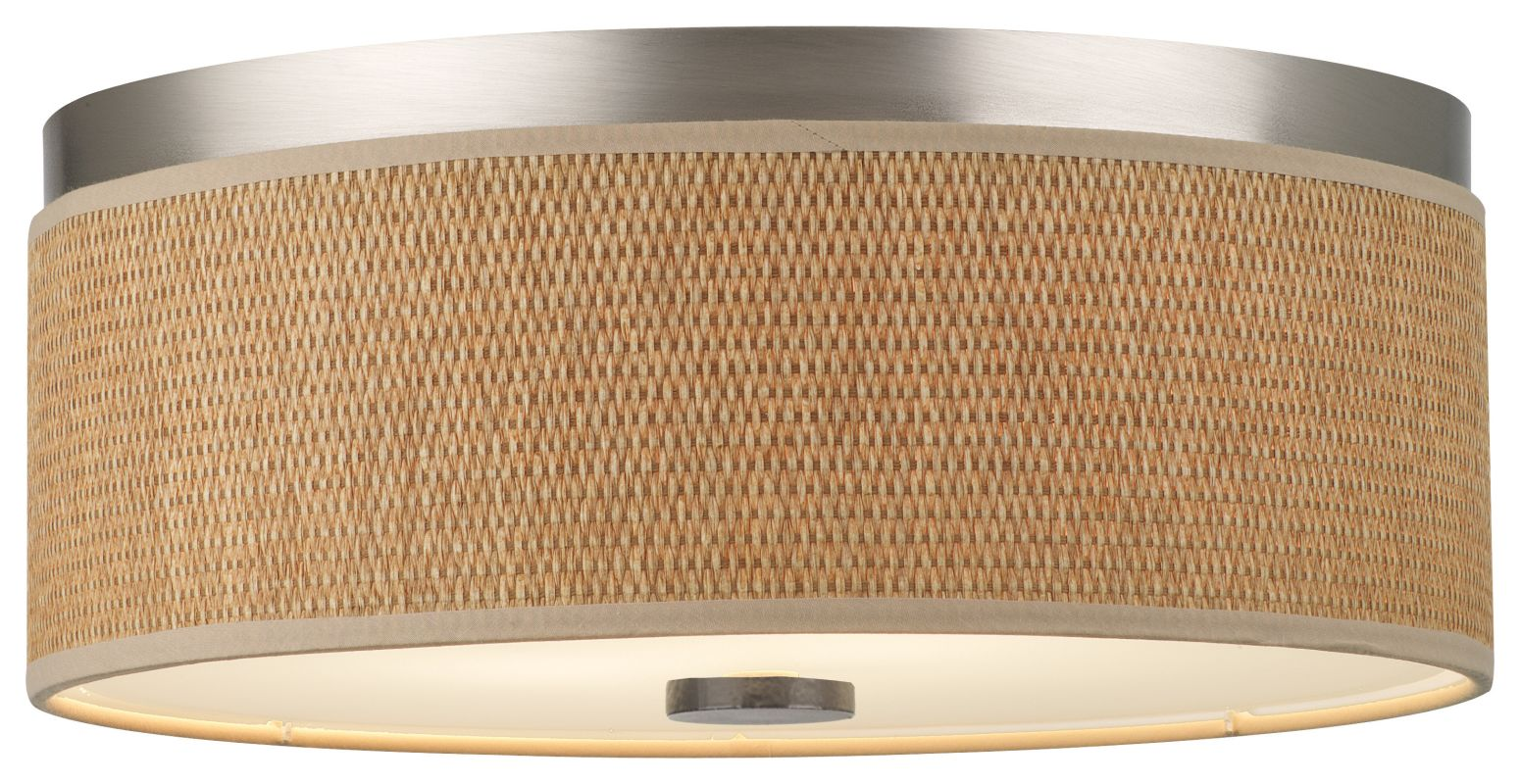 """Forecast Lighting F615136NV 2 Light 14.88"""" Wide Flush Mount Ceiling"""