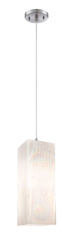 Forecast Lighting FC0015 Cotton Candy 1 Light Pendant Satin Nickel Sale $153.00 ITEM: bci2215131 ID#:FC0015836 UPC: 742546205128 :