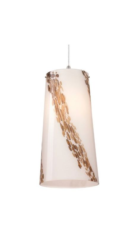 Forecast Lighting FQ0065031 A La Carte White Art Glass Shade from the
