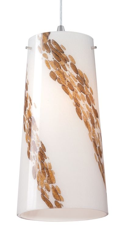 Forecast Lighting FQ0066031 A La Carte White Art Glass Shade from the