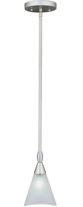Forte Lighting 2227-01 Mini Pendant Brushed Nickel Indoor Lighting Sale $74.00 ITEM: bci45364 ID#:2227-01-55 UPC: 93185013705 :