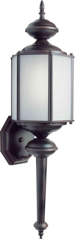 Forte Lighting 10021-01 Energy Efficient Fluorescent Outdoor Wall
