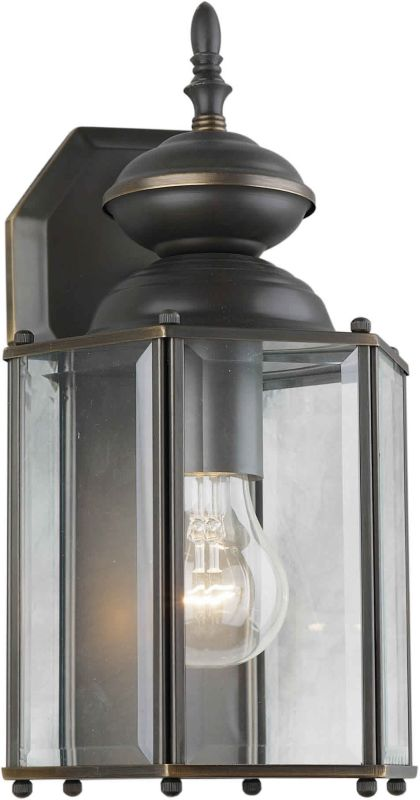 Forte Lighting 1007 Outdoor Wall Sconce from the Exterior Lighting
