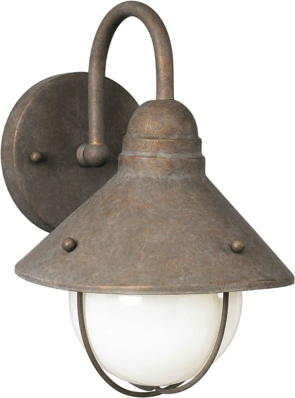 Forte Lighting 1041-01 Outdoor Wall Sconce from the Exterior Lighting