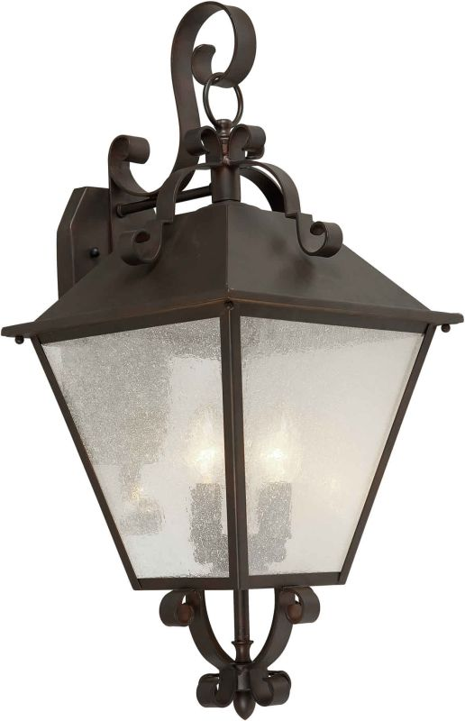 Forte Lighting 1107-04 Outdoor 11.5Wx24.5Hx12E Wall Sconce Antique Sale $187.00 ITEM: bci1232187 ID#:1107-04-32 UPC: 93185028433 :