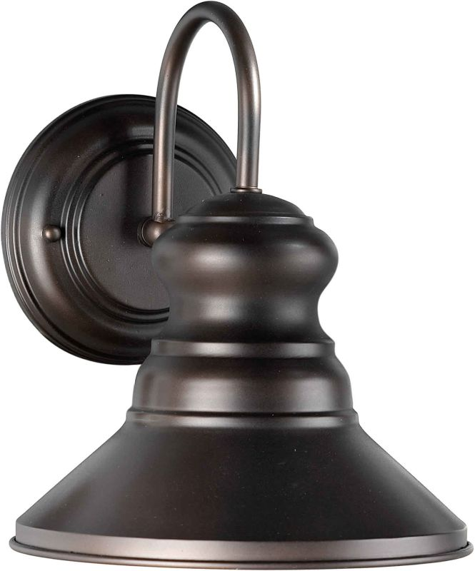 Forte Lighting 1127-01 Energy Efficient Outdoor 7.75Wx9.5Hx9E Wall