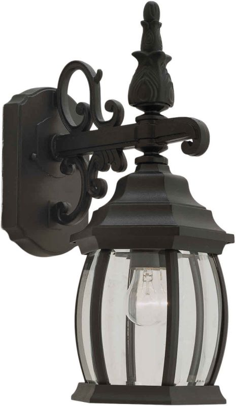Forte Lighting 1700-01 Outdoor Wall Sconce from the Exterior Lighting