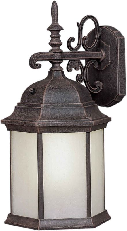 Forte Lighting 17009-01 Energy Efficient Traditional / Classic Outdoor