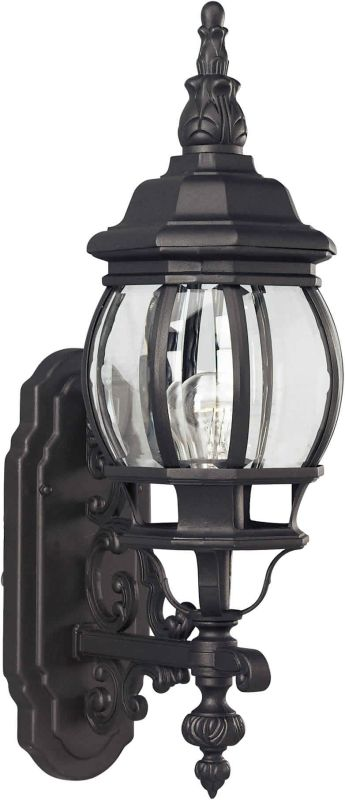 Forte Lighting 1701-01 Outdoor Wall Sconce from the Exterior Lighting