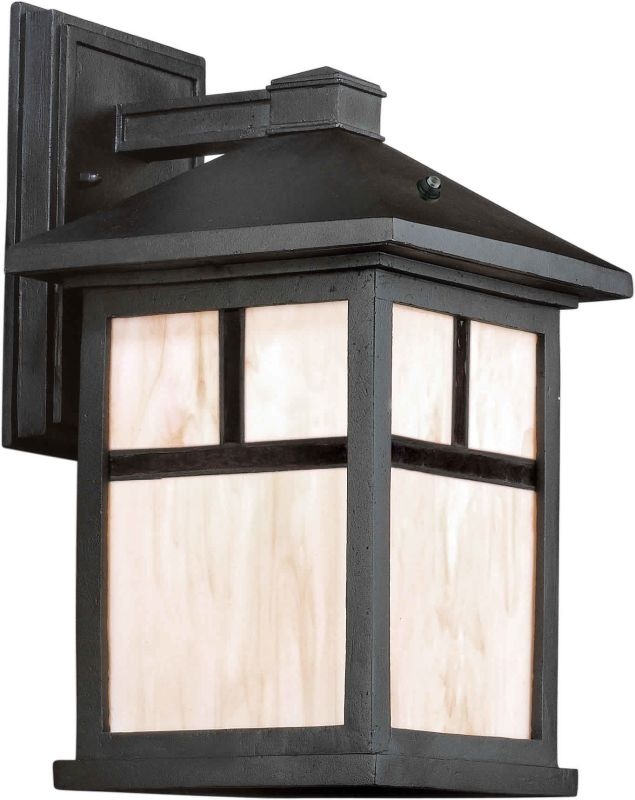 Forte Lighting 17020-01 Energy Efficient Craftsman / Mission Outdoor