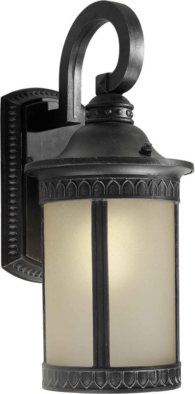 Forte Lighting 17022-01 Energy Efficient Transitional Outdoor Wall